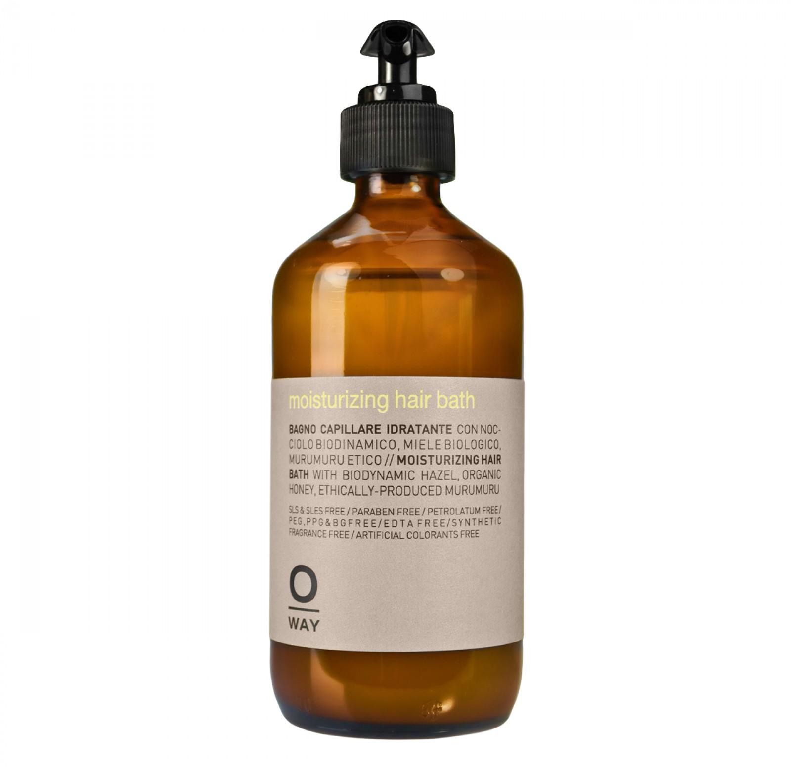 Oway moisturizing hair bath