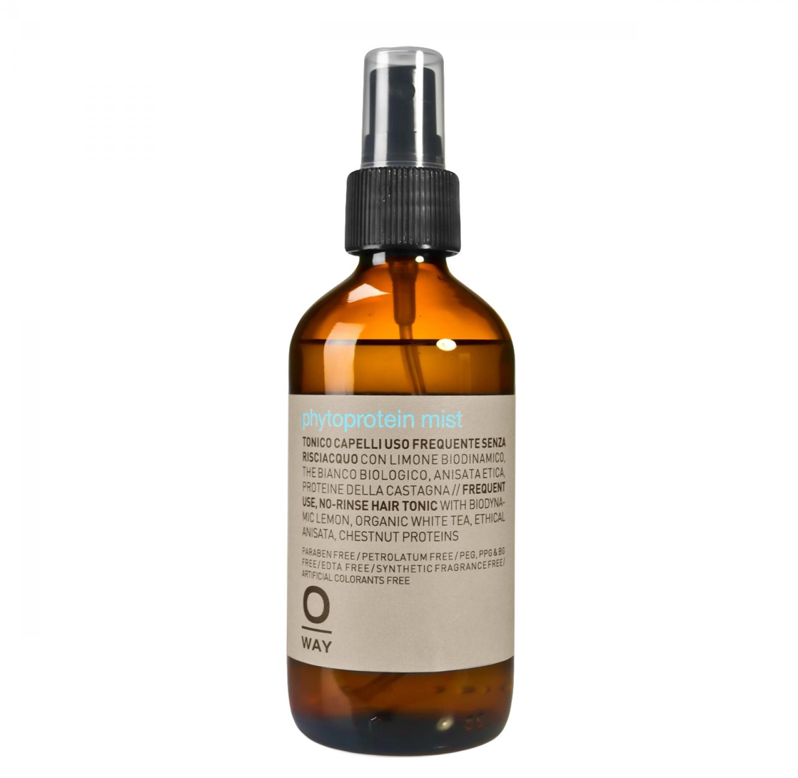 Deze proteïne spray herstelt het haar van binnenuiten zorgt ervoor dat uw haar er weer gezond uitziet. Oway Daily Phytoprotein Mist Spray ontklit direct!
